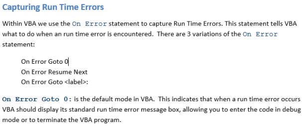 vba important tips excel exposureexcel exposure